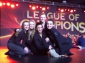 League of Champions ( Hall of Fame ) will feature 3 of our routines